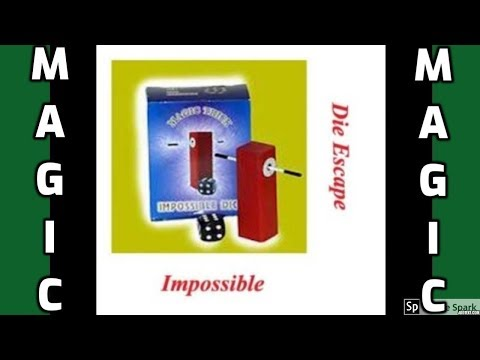 ONLINE MAGIC TRICKS TAMIL I ONLINE TAMIL MAGIC #385 I IMPOSSIBLE DIE ESCAPE