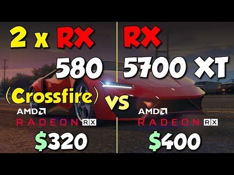 RX 580 in CrossFire. vs RX 5700 XT
