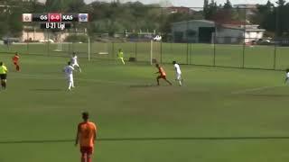 Galatasaray U21'de Ahmet Sivri'nin Kasımpaşa'ya attığı harika gol!