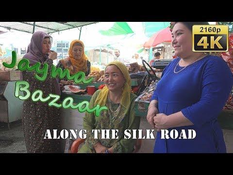 Jayma Bazaar in Osh - Kyrgyzstan 4K Travel Channel