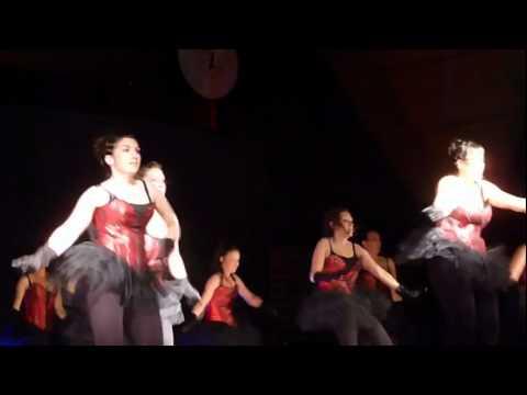 TENDANSE Dainville - Show burlesque (groupe OVATION)