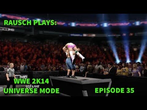 RAUSCH PLAYS: WWE 2K14 Universe Mode Ep. 35 (Raw) - MERCHANDISING BONUS