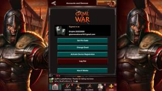 How to sell your Game of War GoW Account