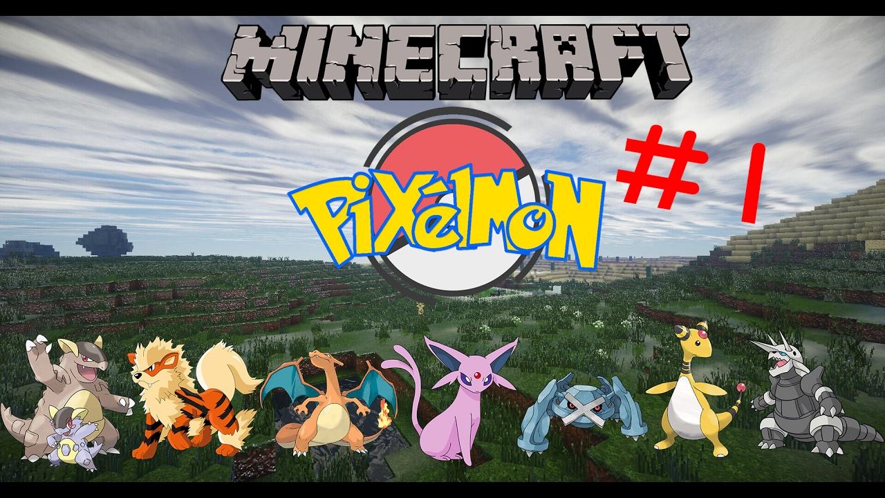 【魔影】當個創世神Minecraft Pixelmon Mod EP.1----就決定是你了 - YouTube