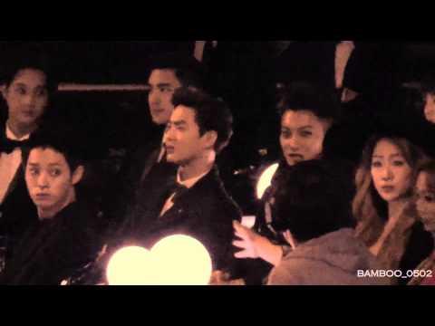 [FANCAM] 141203 MAMA EXO TAO Reaction Performance WINNER 'Empty'