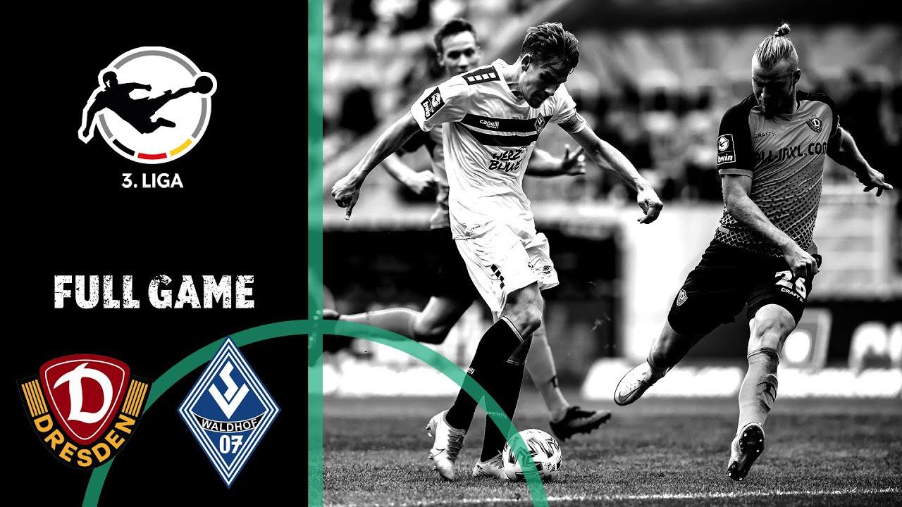 Dynamo Dresden vs. Waldhof Mannheim 1-1   Full Game   3rd Division 2020/21   Matchday 2