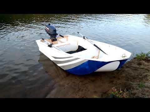 самодельная лодка из пвх пластика ГОА