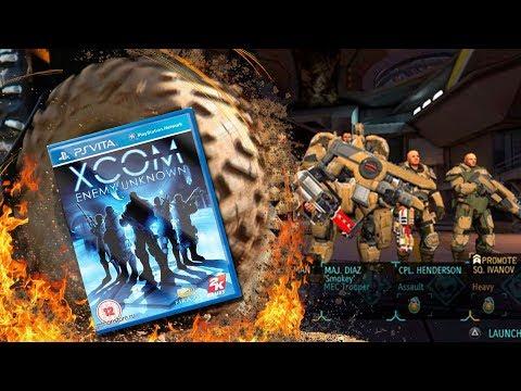 PS Vita. XCOM Enemy Unknown Plus. Gameplay игры, прохождение