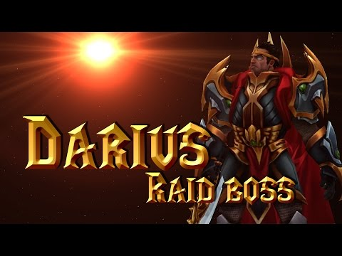Darius the Raid Boss | League of Warcraft | ThePeacePigeon
