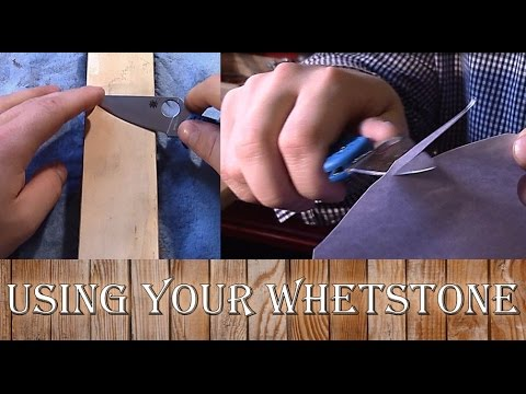 How To Use A Whetstone - Proper techniques to get a RAZOR SHARP edge