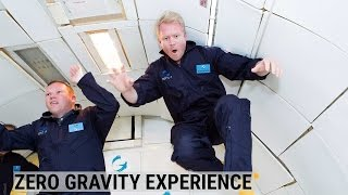Thrill-seekers pay $5,000 to experience zero gravity