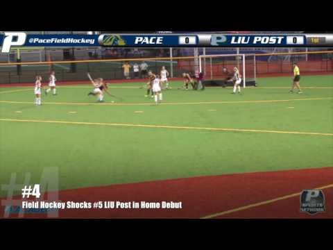 Pace Athletics Top 10 Moments of 2015-16 - #4: Field Hockey Shocks #5 LIU Post in Home Debut