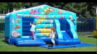 Happy Soles Funtime Playhouse Bouncy Castle Ballpool And Slide