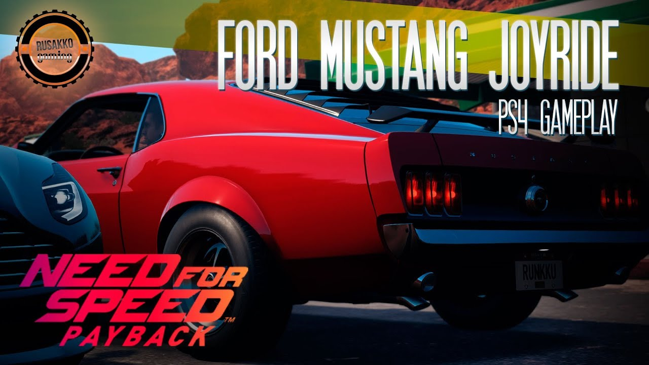need for speed payback ps4 gameplay 1965 ford mustang joyride youtube. Black Bedroom Furniture Sets. Home Design Ideas
