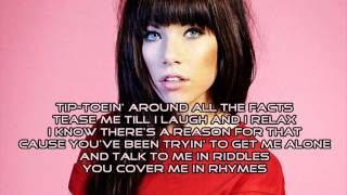Gambar cover Carly Rae Jepsen - I Know You Have A Girlfriend (Audio) with Lyrics + Download