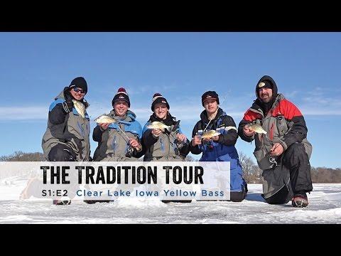 Clear Lake Iowa Yellow Bass Beatdown: The Tradition Tour (S 1: E 2)