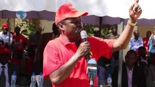 Embu Senator Lenny Kivuti on a peace mission