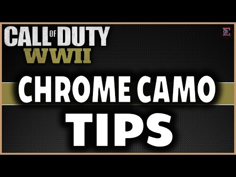 How to Unlock CHROME CAMO & TIPS | LMG & LEE ENFIELD V2 Rocket in Call of Duty: WW2