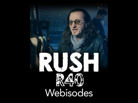 Rush - R40 Tour - Geddy Lee Webisode Part 1