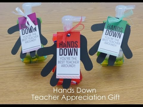 Best DIY Gifts for Teachers - YouTube