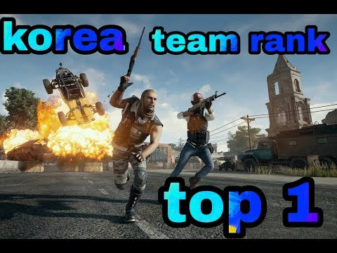 PUBG game online | live stream PUBG korea | PUBG Team Rank top 1 | Ep.5