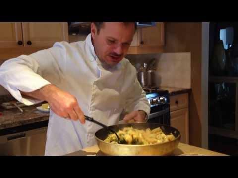 How to - Italian Pasta Al Diavolo Recipe - Chef Fiore Palarchio