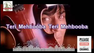Kisi Roz Tumse Mulaakat Hogi Karaoke Song for male singers with lyrics