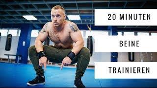 20 Minuten Beine Workout zum Mitmachen | 30 Sek. Intervalle | Daheim trainieren | Leg Day