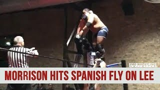 John Morrison Hits Amazing Spanish Fly On Keith Lee At Wrestle Circus Event (VIDEO)