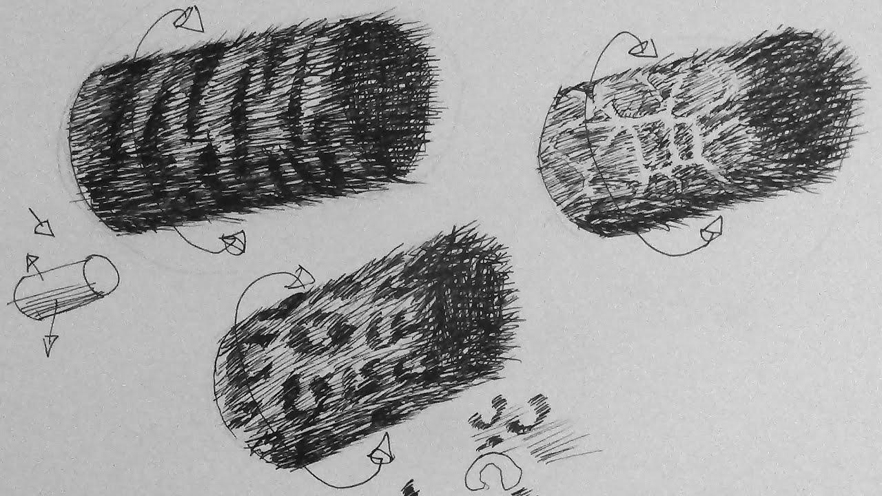 pen & ink drawing tutorial