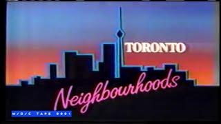 "Toronto Neighbourhoods ""Chinatown with Valerie Mah"" - CBC TV - 1984"
