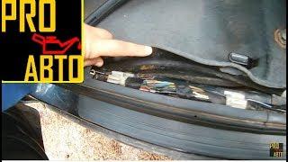 видео Honda civic viii 4d лючок бензобака