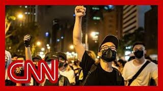 Download China blames US for massive Hong Kong protest Mp3 and Videos