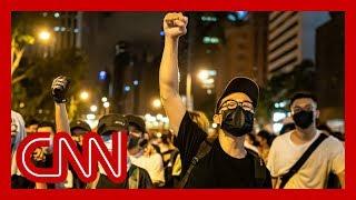 Download Video China blames US for massive Hong Kong protest MP3 3GP MP4