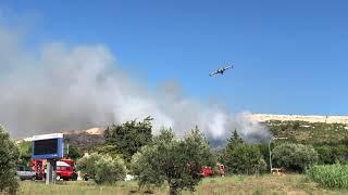 Incendie à Rognac : 10 hectares ont brûlé mais le feu est fixé