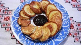 Оладьи рецепт на молоке дрожжевые оладьи Оладки дріжджові на молоці рецепт оладьев тесто на оладьи