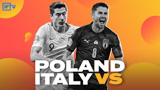 POLAND VS ITALY LIVESTREAM GOAL REACTIONS NATIONS LEAGUE LIVE