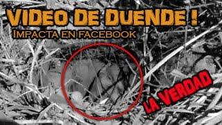 Duende  descubierto bajo la tierra impacta en Facebook @OxlackCastro