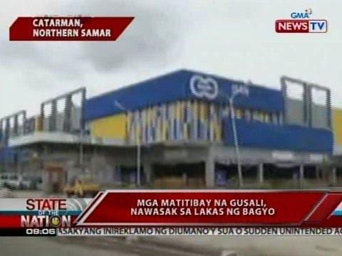 SONA: 90% ng istruktura sa 24 na bayan sa Northern Samar, napinsala ni bagyong Nona