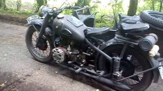 BMW R71 replica CJ 750 WH