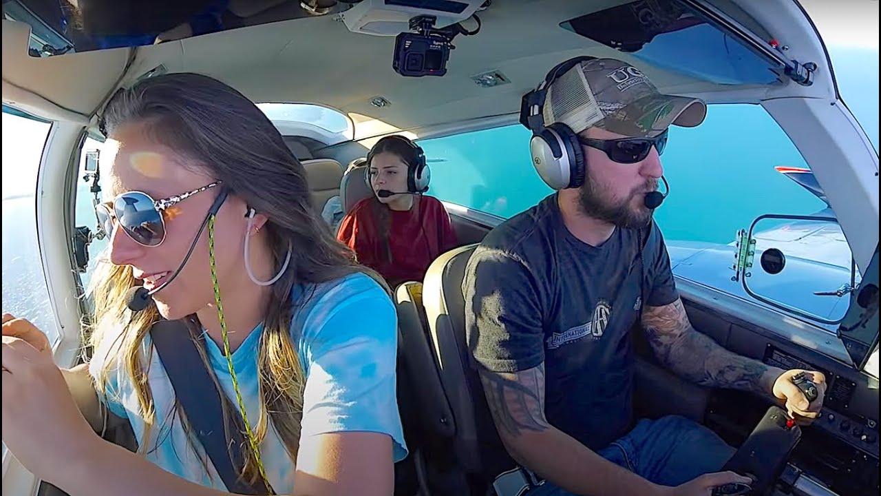 Girlfriend's First Flight~Chicago Skyline Tour~Air Force Send Off
