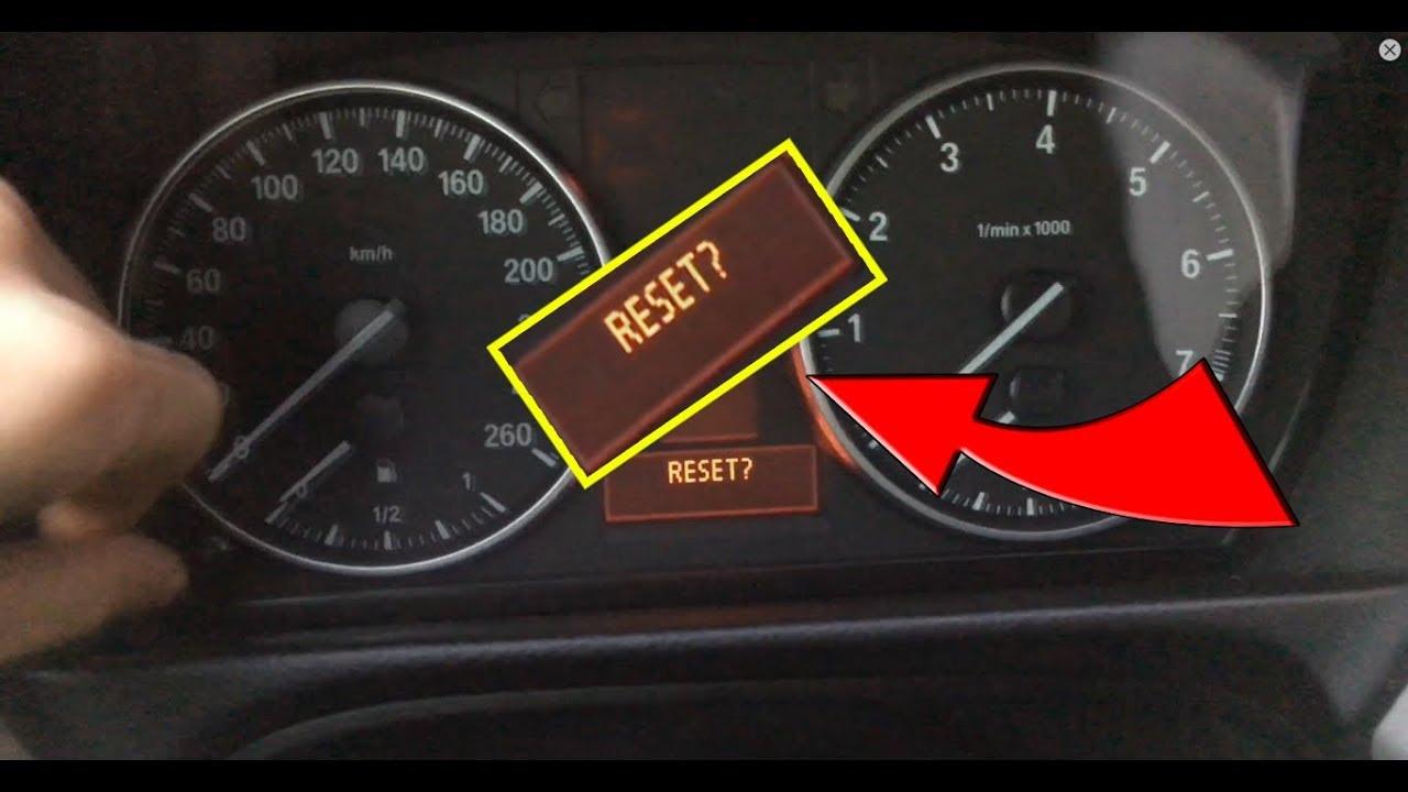 How to RESET SOFTWARE? - BMW E90 E91 E92 E93