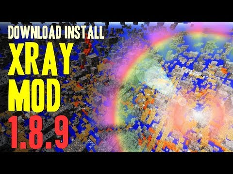Xray mod download for minecraft 1. 8/1. 7/1. 6.