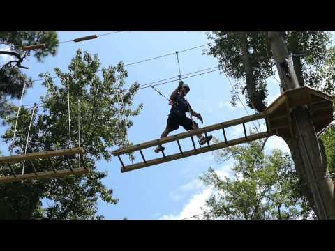 American Ninja Warrior Joe Moravsky at Radical Ropes in MB