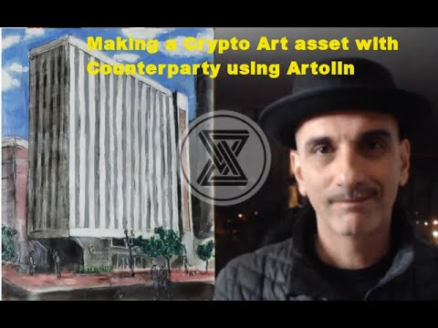 Making A CryptoArt Token On Counterparty With Artolin Wallet