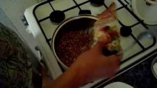 видео как варить гречку на воде