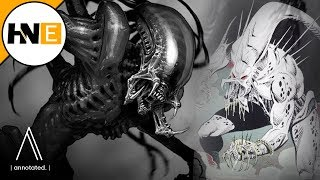 The Predator Hybrids Genetically Modified with Human & Xenomorph DNA Explained