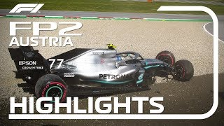 2019 Austrian Grand Prix: FP2 Highlights