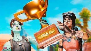 Fortnite World Cup Qualifier $1,000,000 Semi-Finals! (Fortnite Battle Royale)