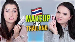 Oh wow... 🤔 wir testen THAILÄNDISCHES Makeup! 🇹🇭